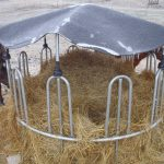 Protecting hay from ice and freezing rain